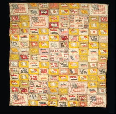 A PRINTED FLANNEL PATCHWORK WO