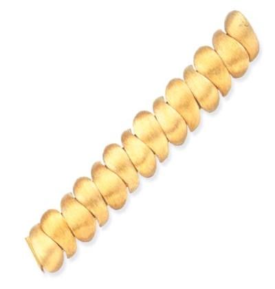 A GOLD BRACELET, BY HENRY DUNA