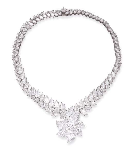 A MAGNIFICENT DIAMOND CLUSTER