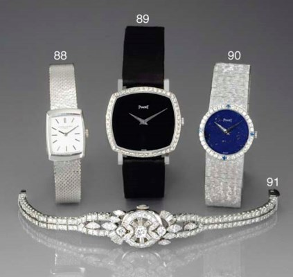 PIAGET. A LADY'S WHITE GOLD, D