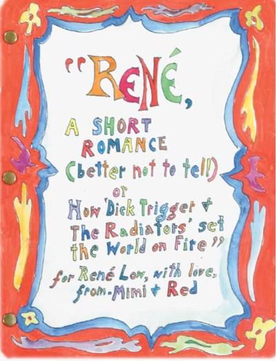 Red Grooms (b. 1937) & MIMI GR