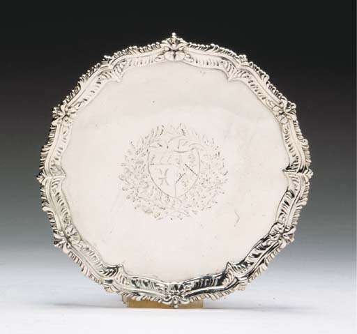 A GROUP OF GEORGE III SILVER T