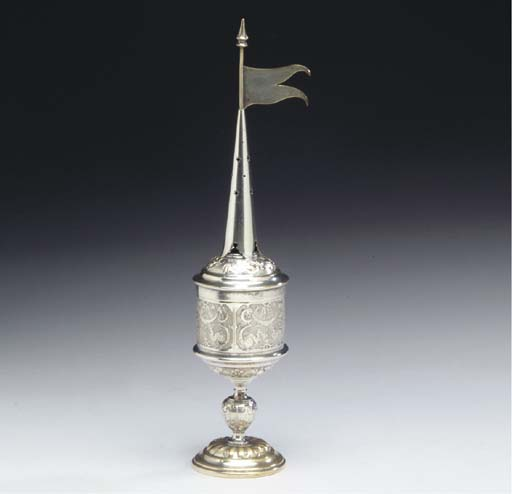 A GERMAN SILVER-PLATED SPICE B