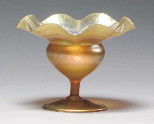 A TIFFANY STUDIOS FAVRILE GLAS