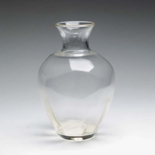 AN AMERICAN BLOWN MOULDED GLAS
