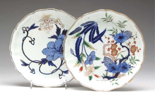 FOUR LARGE JAPANESE PORCELAIN