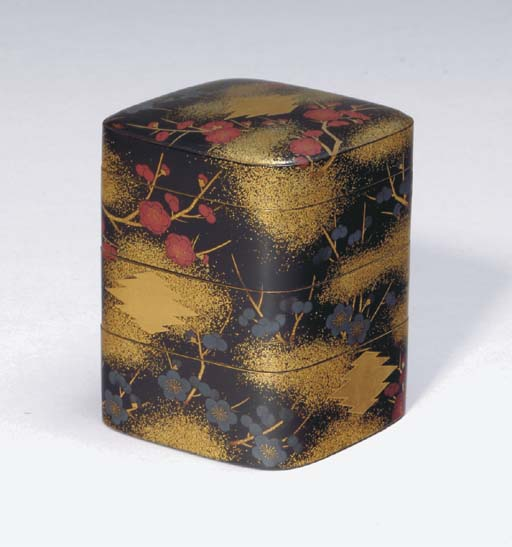 A GROUP OF JAPANESE LACQUER OB