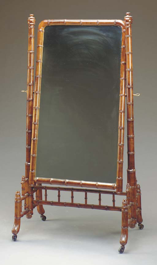 A VICTORIAN STAINED FRUITWOOD