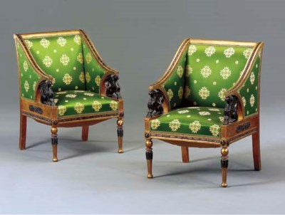 A PAIR OF SWEDISH NEOCLASSIC S