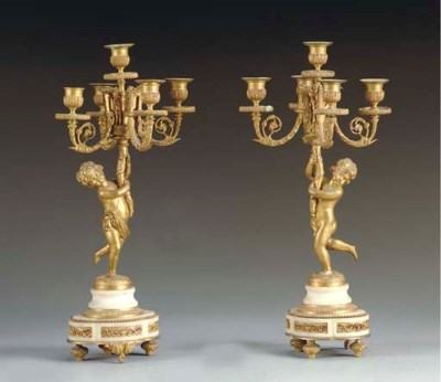 A PAIR OF RESTAURATION STYLE F