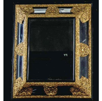 A DUTCH BAROQUE STYLE GILT REP
