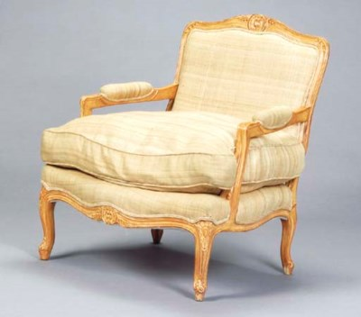 A PAIR OF LOUIS XV STYLE LIME