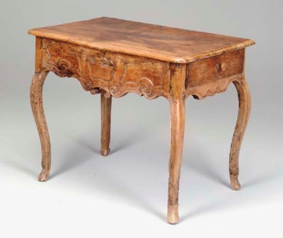 A LOUIS XV PROVINCIAL CARVED W