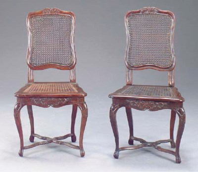 A PAIR OF CONTINENTAL ROCCOCO