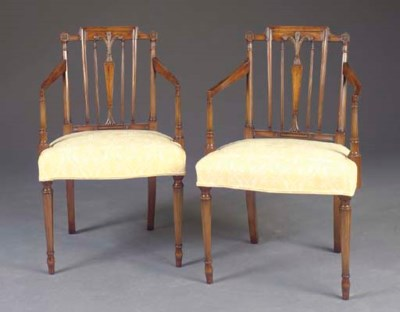 A PAIR OF GEORGE III STYLE BEE