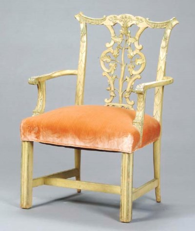 A PAIR OF GEORGE III STYLE CRE