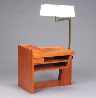A CONTEMPORARY FRUITWOOD SIDE