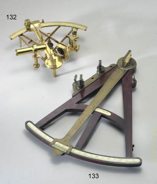 A late 18th century mahogany f