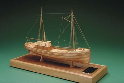 A model of the sail/steam lumb