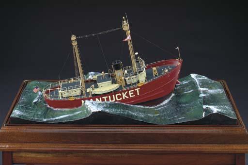 A diorama of the Nantucket Lig