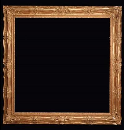 A gilded frame