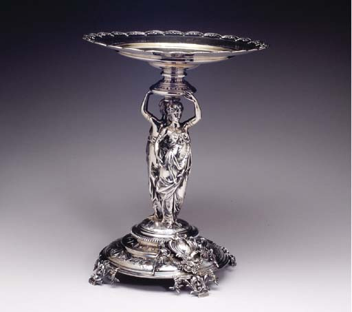 A CONTINENTAL SILVER-PLATED DE