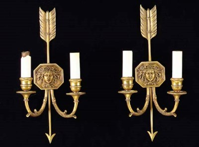 A SET OF THREE NEOCLASSICAL ST