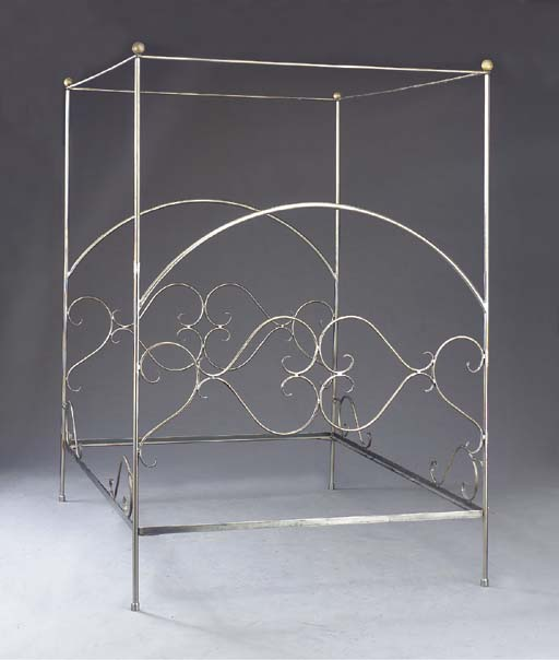 A STAINLESS STEEL FOUR POSTER