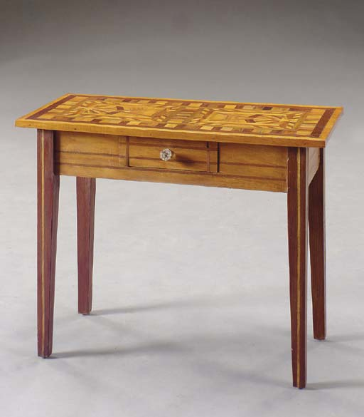 AN ARTS AND CRAFTS STYLE PARQU