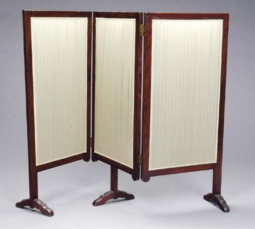 A LOUIS PHILIPPE MAHOGANY AND