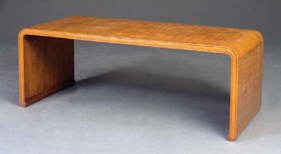 A BAMBOO LOW TABLE,