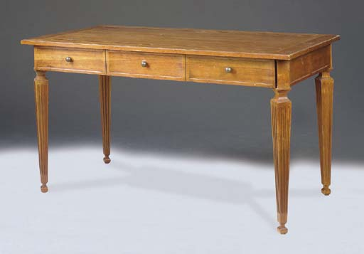 A NEOCLASSICAL STYLE FRUITWOOD