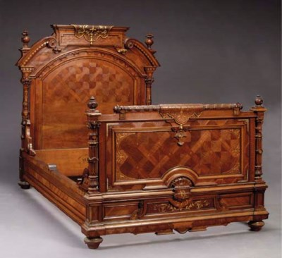 A FRENCH NEO-GREC PARCEL-GILT,