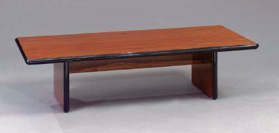 A CONTEMPORARY ROSEWOOD AND EB