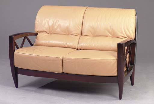 AN ART DECO STYLE ROSEWOOD AND