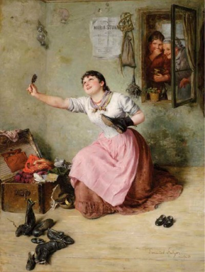 Emmanuel Spitzer (German, 1844