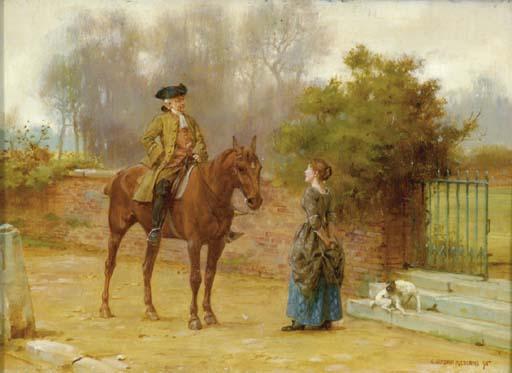 George Goodwin Kilburne (Briti