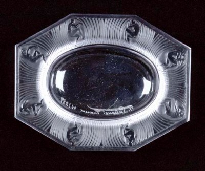 'ALICE,' A LALIQUE CLEAR AND F