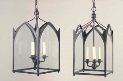 A GROUP OF THREE GOTHIC STYLE