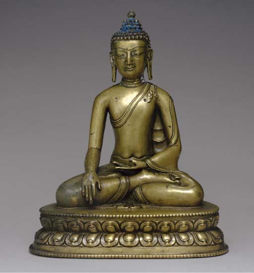 A Bronze Figure of Buddha