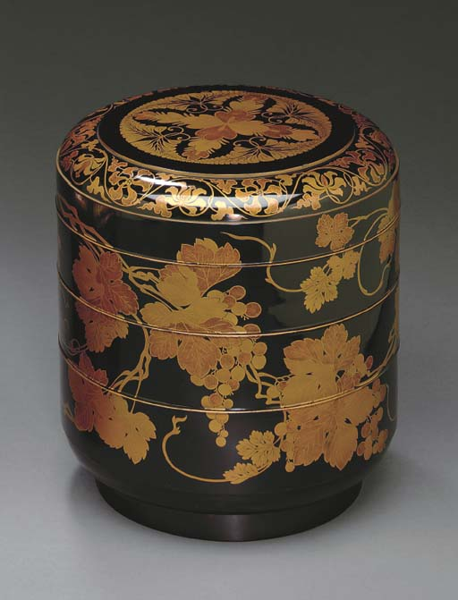 A Three-Tier Lacquer Stacking