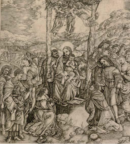CRISTOFANO ROBETTA (B. 1462-ci