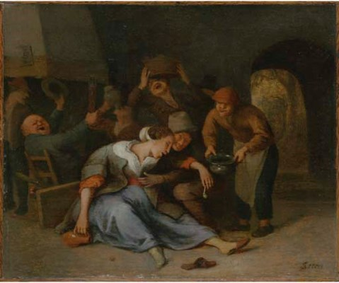 Attributed to Jan Steen (Leide