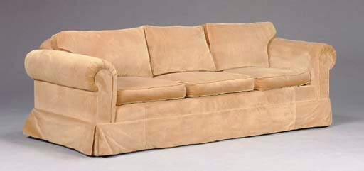 A CONTEMPORARY SOFA AND LOVESE