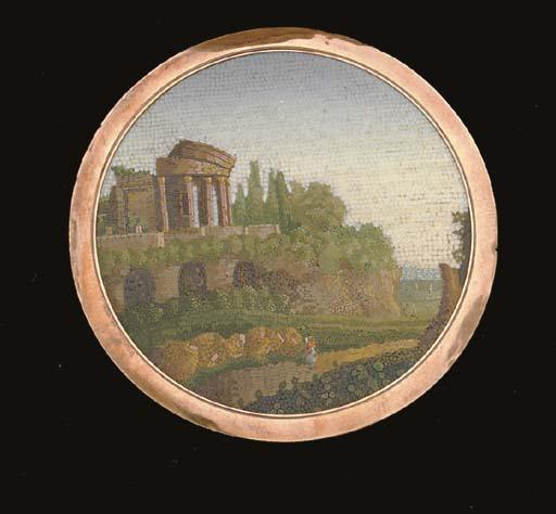 A FINE ITALIAN GOLD-MOUNTED MI