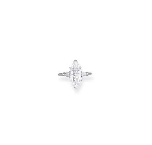 A DIAMOND RING, HARRY WINSTON