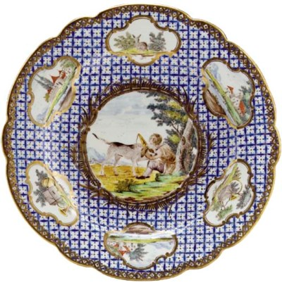 A CHANTILLY 'BLEU MOSAIQUE ET