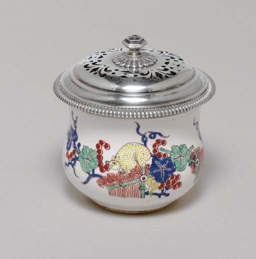 A CHANTILLY KAKIEMON CUP LATER