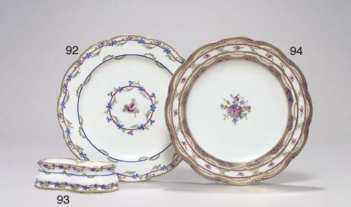 A SEVRES DOUBLE SALT FROM THE