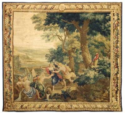A LOUIS XIV GOBELINS MYTHOLOGI